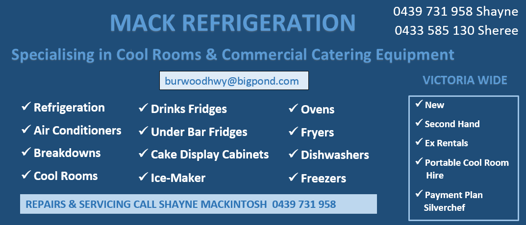 Mack Refrigeration and Commerical Catering Equipment