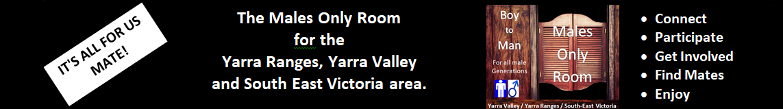 Males Only Room