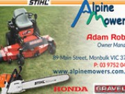 Alpine Mowers - Monbulk