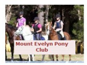 Mount Evelyn Pony Club