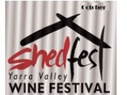 Shedfest Wine Festival Yarra Valley - October