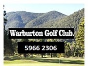 Warburton Golf Course