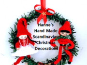 Hanne's Hand Made Scandinavian Christmas Decorations