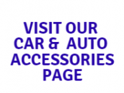 Car & Auto Accessories Page for Melborune