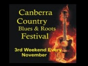 Canberra Country Blues & Roots Festival