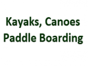 Kayaks, Canoes, Paddle Boating