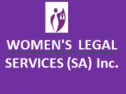 Womens Legal Services SA INc.