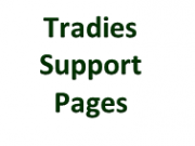 Tradies Support Pages